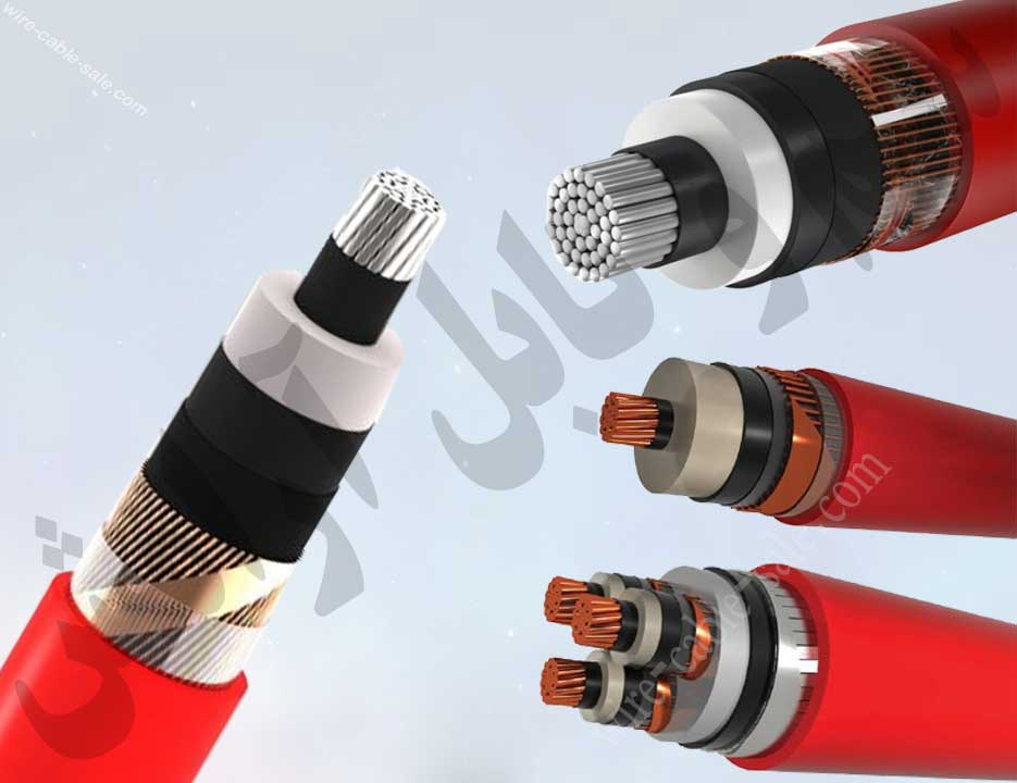 کابل فشار قدرت 20 کیلو ولت